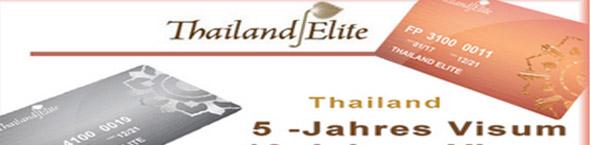 Thailand Elitevisum mit Arbeitsgenehmigung